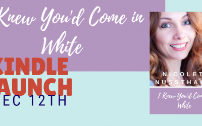 Ebook Launch: I knew you'd come in white